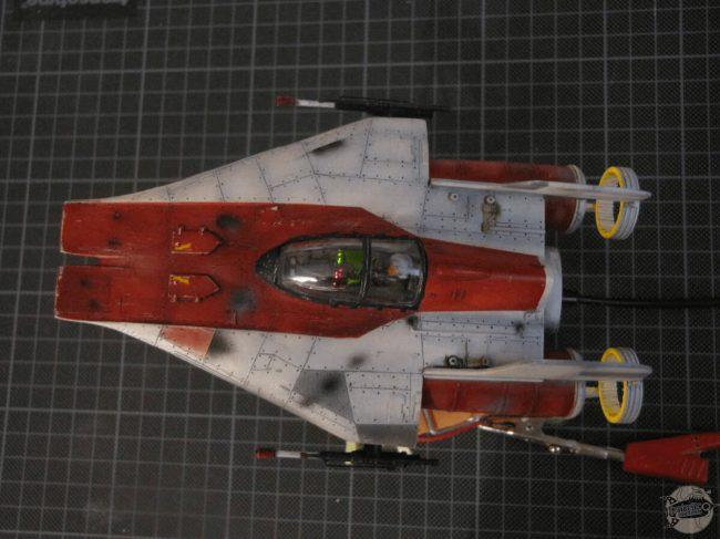 A-Wing RZ-1 interceptor
