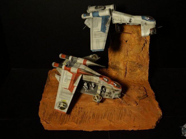 Battle of Geonosis Gunships
