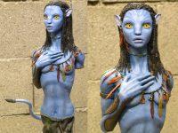 Neytiri avatar sculpt