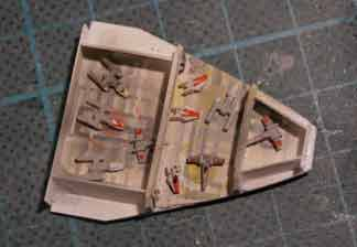 croiseur mon calamri Liberty hangar à chasseurs