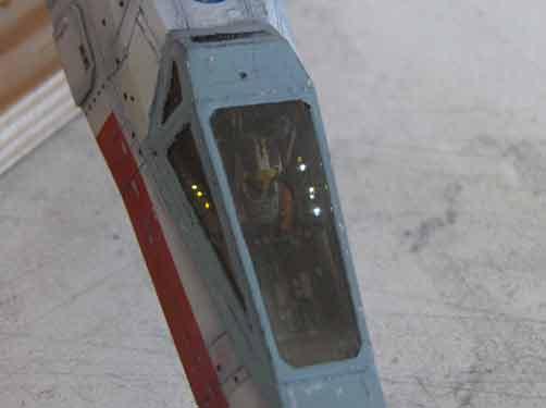 star wars cockpit x-wing