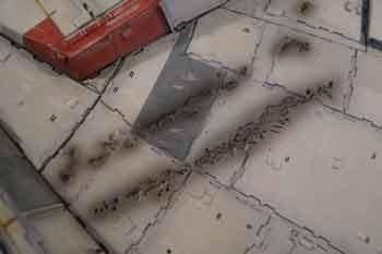 Faucon Millenium Altaya - battle damages