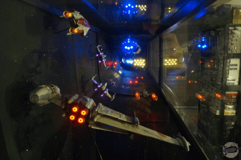 Rebel fleet over Sullust - Battle of Endor