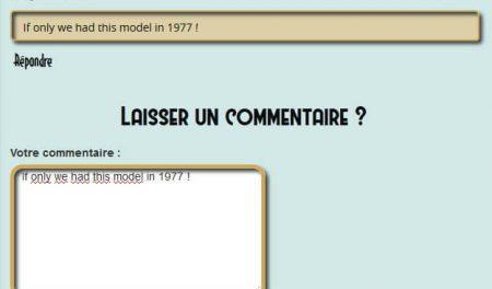 screenshot commentaires fantastic modelers