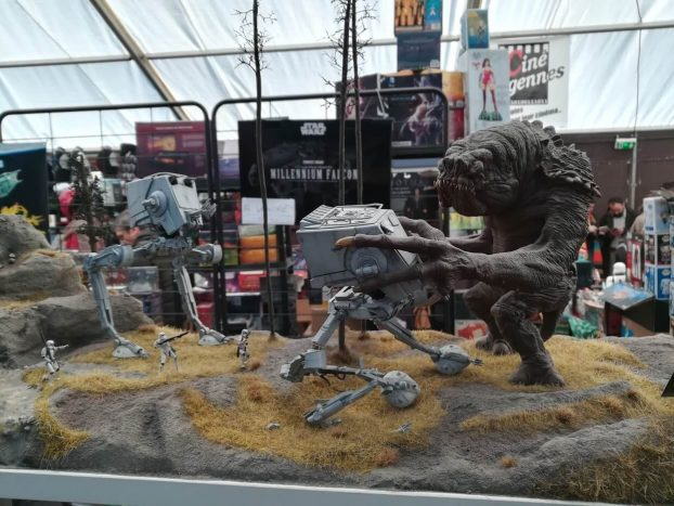 Rancor et AT-ST par DJSLY