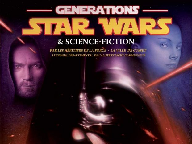 affiche Cusset Generation Star Wars