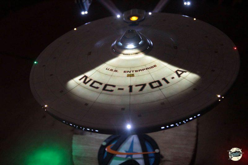 USS Enterprise NCC-1701-A Immatriculation. Maquette de petersteven