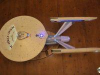 Vue de dessus de l'Enterprise NCC-1701-A