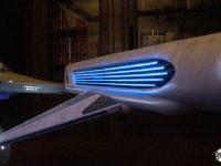 Eclairage des nacelles WARP de l'Enterprise NCC-1701-A