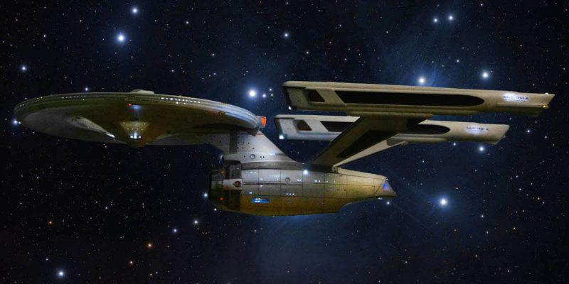 USS Enterprise NCC 1701-A, image de la maquette réalisé par petersteven.