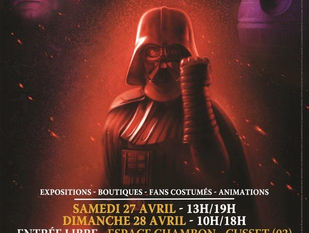 Affiche Générations Star Wars Cusset 2019