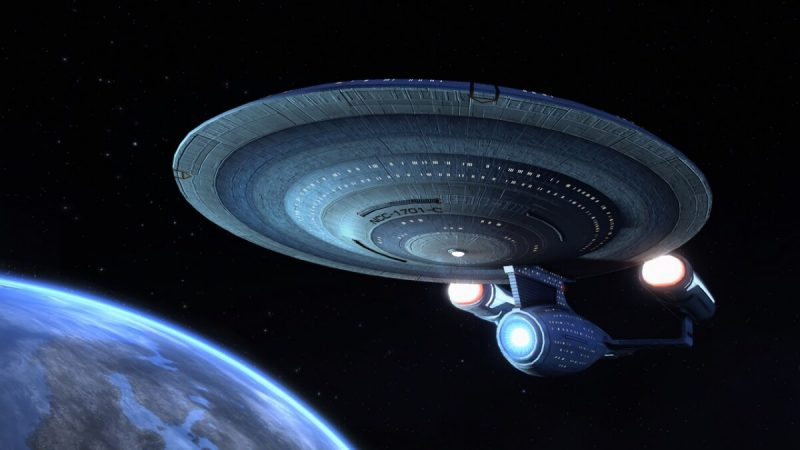 Illustration of the Enterprise NCC 1701-C