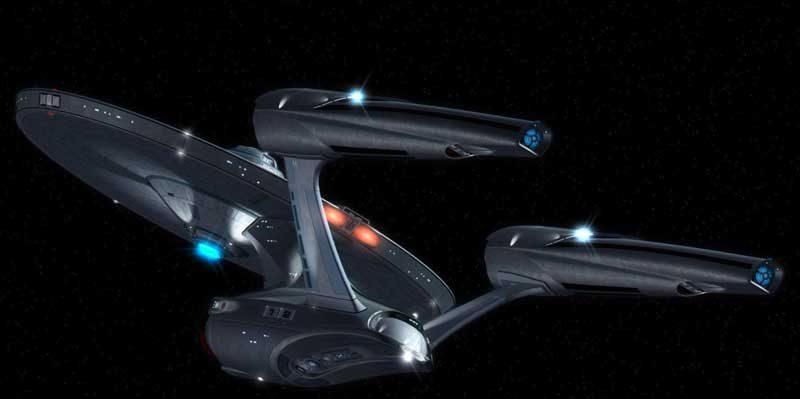 USS Enterprise NCC-1701 - Star Trek 2009.
