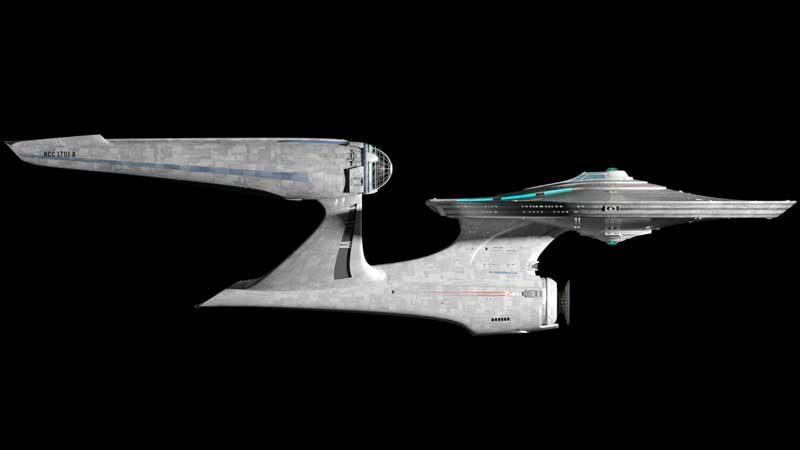 USS Enterprise NCC-1701 - Star Trek Beyond.