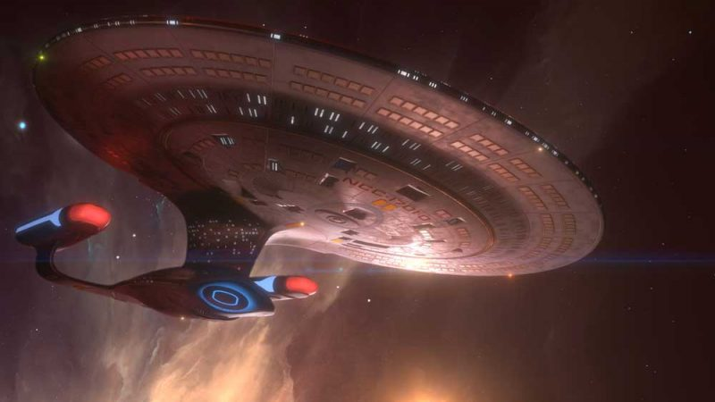 Illustration of the USS Enterprise NCC 1701-D