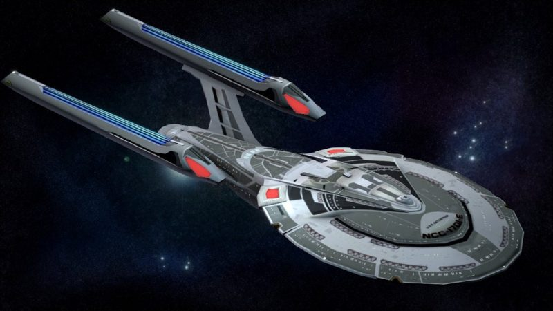 Illustration of the Enterprise E