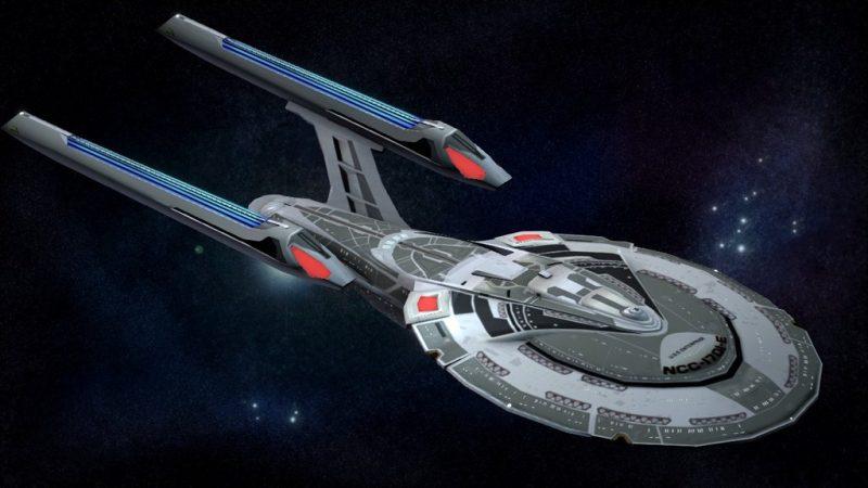 USS Enterprise NCC-1701-E - Star Trek 8,9 et 10.