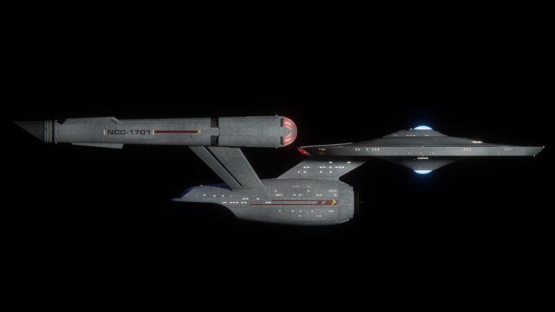 USS Enterprise NCC-1701 de la série Star Trek Discovery