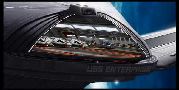 Enterprise E hangar