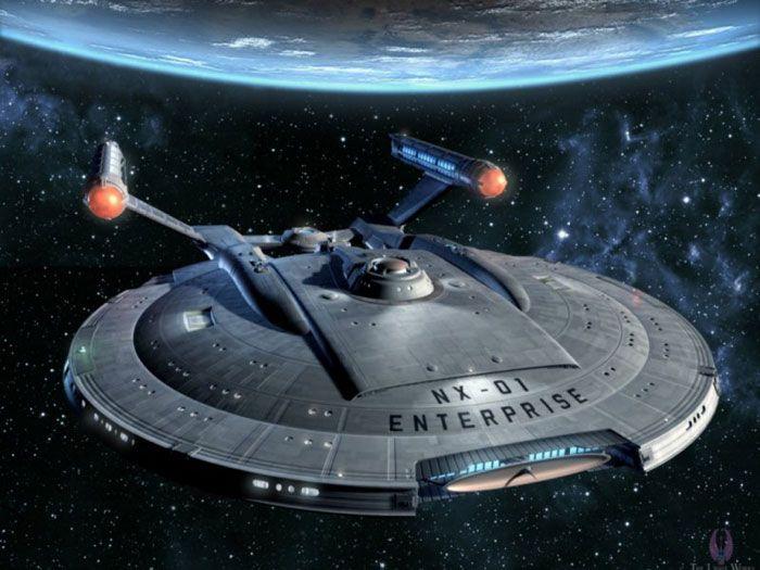 Image de l'Enterprise NX-01.