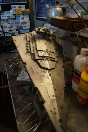 Imperial Star Destroyer : underlayer