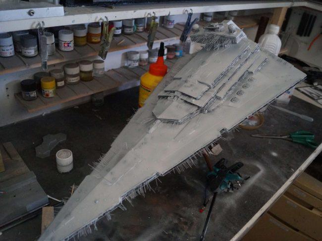 Imperial Star Destroyer paintjob : final rendering