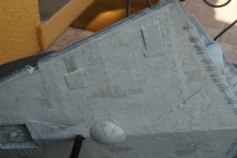 Imperial Star Destroyer : ventral panelling