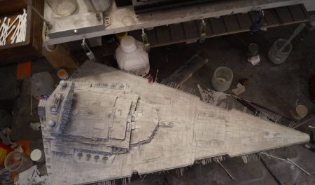 Imperial Star Destroyer : hull paint job