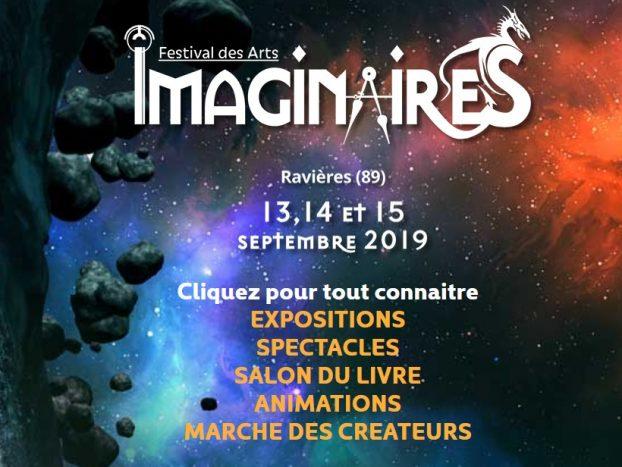Affiche du festival des Imaginaires à Ravières
