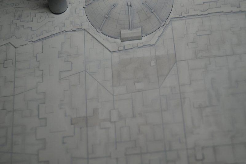 Imperial star destroyer bottom hull detail