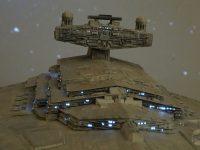 Destroyer stellaire impérial. Château supérieur, détail.