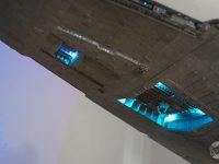 Destroyer stellaire impérial. Hangar ventral.