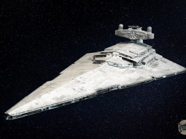Destroyer stellaire impérial. Image principale.