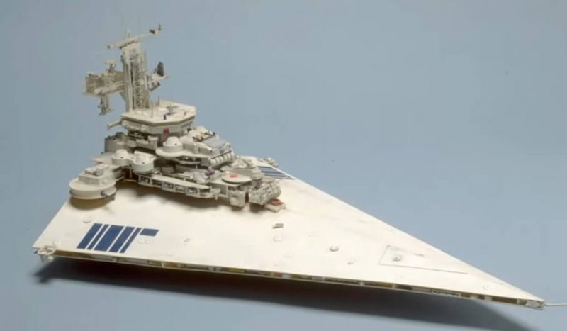 Collin Cantwell's design of a star destroyer - integral view