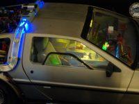 DeLorean Eaglemoss - Habitacle éclairé