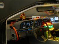 DeLorean - habitacle conducteur