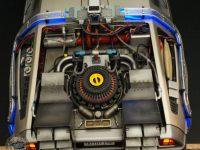 DeLorean - rear span, detail