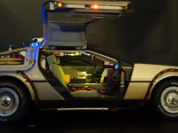 DeLorean - Passenger door open