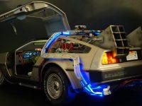 DeLorean - three quarters rear view
