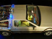 DeLorean - Top view