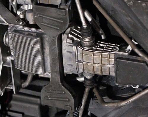 DeLorean Eaglemoss - engine weathering