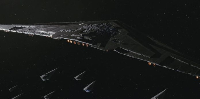 Snoke's Supremacy dreadnought