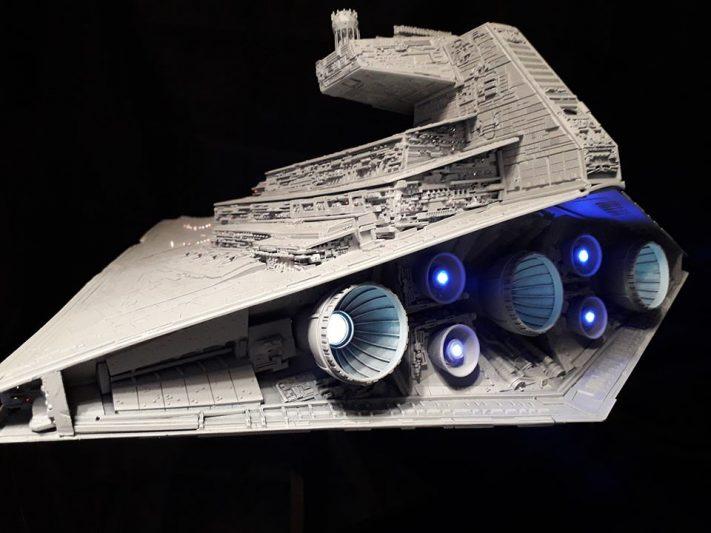 Destrpyer stellaire impérial de DJSLY présenté à Migennes Collector 2020