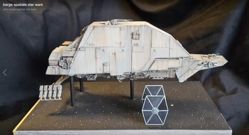 VCréation Star Wars de Laurent Périni, présenté à Migennes Collector 2020