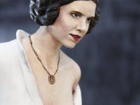 Figurine de la Princesse Leïa - Finie - détails