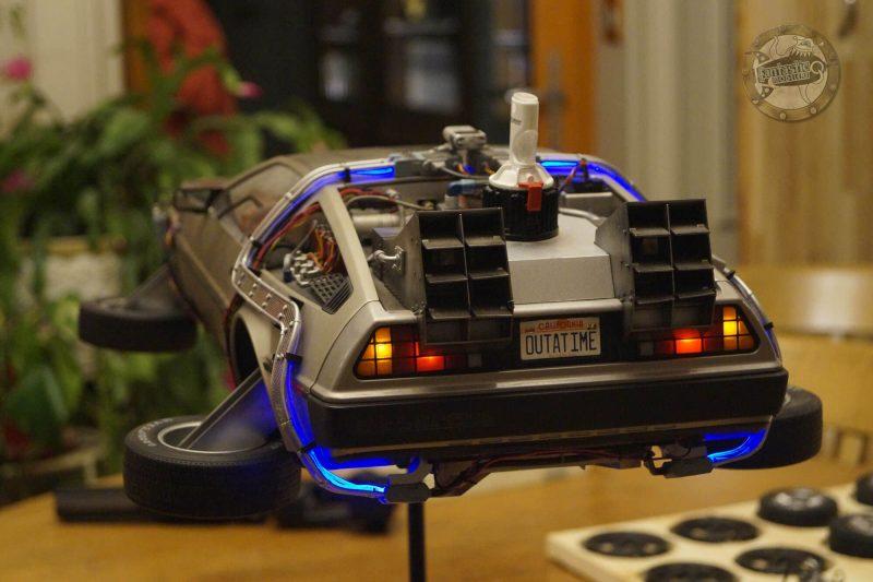 DeLorean Eaglemoss mark 2 - vue arrière