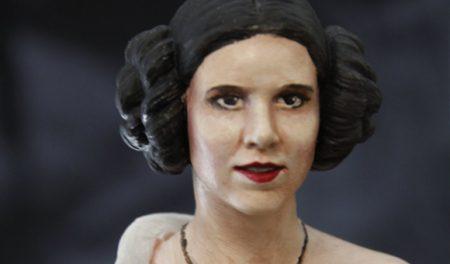 portrait de la princesse Leïa