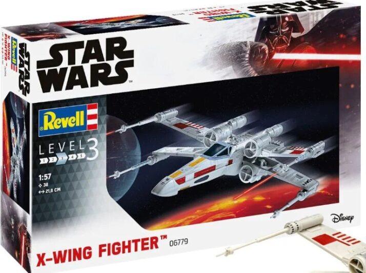 modèles de X Wing de Revell : troisème boîtage