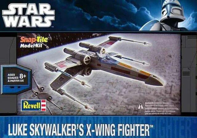 modèles de X Wing RTevell : deuxième boîtage