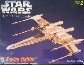 Maquette de X-Wing AMT gold edition